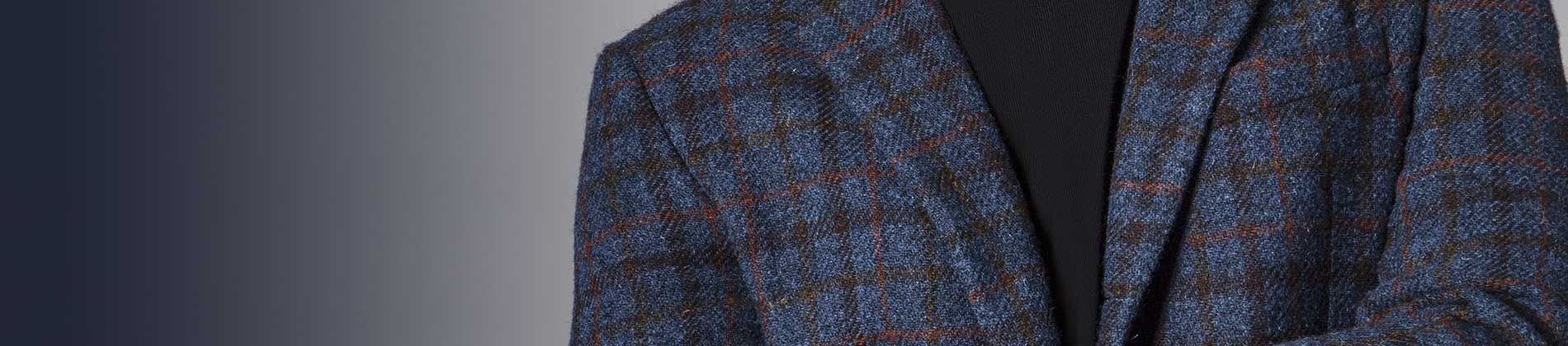Harris Tweed fabric from Gladson New York